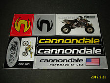1 Authentic CANNONDALE FX400 MOTO QUAD Foglio Adesivo/Transfer/aufkleber