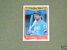 GEORGE BRETT- FLEER Limited Edition Card- #4-1985