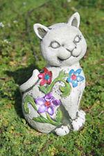 Décorations de jardin en pierre pour chats