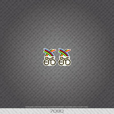 07080 Eddy Merckx Bicycle Head Badge Stickers - Decals - Transfers