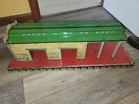 Vintage Marx Tin Litho Freight Terminal Large Train Station