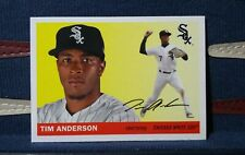 2020 Topps Archives #58 Tim Anderson 1955 Topps Chicago White Sox