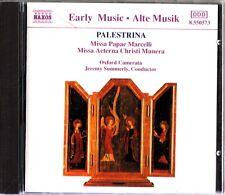 PALESTRINA-Missa Papae Marcelli, Oxford Camerata CD 1991-Jeremy Summerly