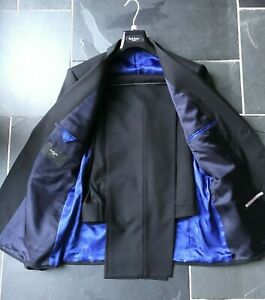 Paul Smith BLACK Suit TAILORED FIT BYARD Jacket 44R Trousers 38