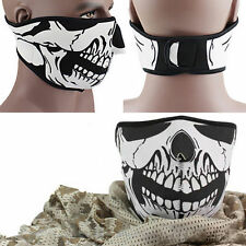 Striking Skull Neoprene Half Face Mouth Mask Ski Motorcycle Protection RF