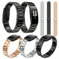 Ersatz Edelstahl Uhrenarmband Wristband Strap für Fitbit Inspire/Inspire HR Neu
