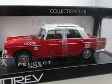 1:18 Norev #184760 Peugeot 404 Directeur de Course Tour de France  rot Rarität