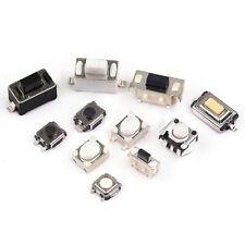50pcs 3mm Tactile Push Button Switch Tact Micro Switch Smd Dip 2 Pin 4 Pin 5 Pin