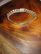 Silver Bracelet Men's Wrist