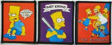 THE SIMPSONS VINTAGE PRINTED PATCHES HOMER BART MAGGIE LISA MARGE TV SHOW