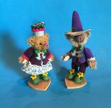 "DEB CANHAM  "" MUNCHKINS"" FROM OZ SET-COLORFUL OUTFITS 4"" MATCHING NUMBERS #123"