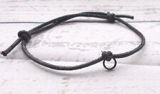 Bracelet Anklet Thick Cord Slider Knot Link Rope Beach Swim Boho Summer Festival