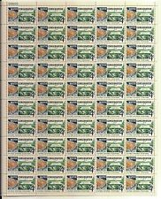 Water Conservation Flag full Sheet of 50 x 4 cents, Scott #1150
