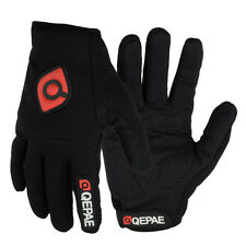 Winter Outdoor Sports Cycling Bike Bicycle Full Finger Gloves - Black, M