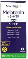 NEW NATROL 6 mg + 5-HTP ! ADVANCED SLEEP RELEASE POSITIVE MOOD