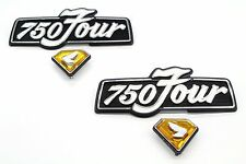 New Honda Dual Side Cover Emblem Set 72-76 CB750 K 750 Four Badges #Z17