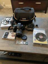 Nikon D D5000 12.3MP Digital SLR Camera (bundle w/ lense+ bag + more)