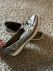 Sperry Top Sider Women's Size 8M Boat Shoes Leather Multicolored
