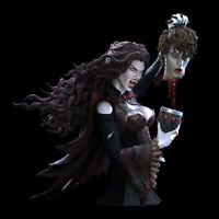 1/10 resin figures bust model kit Female vampire Unassembled Unpainted R4673