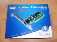 10/100Mbps PCI-Netzwerkkarte LN-40, MS-TECH, Top Zustand + OVP