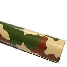 5x DIN A4 Wrapping Folie Camouflage Forest 21x29,7cm Autofolie mit Luftkanälen