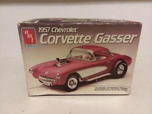 AMT ERTL 1957 CHEVY CORVETTE GASSER MODEL CAR KIT 1:25