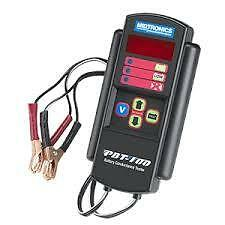 Automotive Battery & Electrical System Tester By Midtronics MIDPBT100