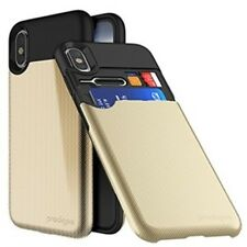 Prodigee Undercover Case For Apple iPhone X - Gold - Retail Packaged
