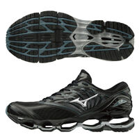 Mizuno Wave Prophecy 8 Black Grey Men Running Shoes J1GC190004