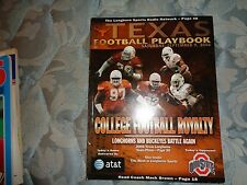 2006 OHIO STATE BUCKEYES TEXAS LONGHORNS PROGRAM TROY SMITH College Football AD