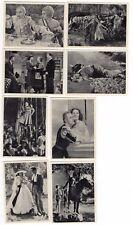 8 1940 Movie Photograph Cards GRETA GARBO CHARLES LAUGHTON  DOUGLAS FAIRBANKS JR