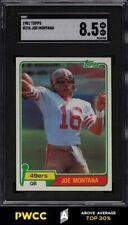 1981 Topps Football Joe Montana ROOKIE RC #216 SGC 8.5 NM-MT+ (PWCC-A)