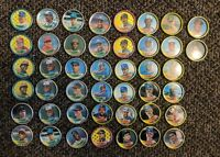 LOT 1989 COLLECTIBLE TOPPS BASEBALL BOTTLE CAPS COIN Gwynn Sabo Boggs Strawberry