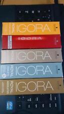 50 tubes  ALL TUBES Schwarzkopf Igora Royal Permanent Hair Color 60ml