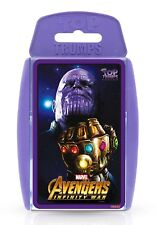 TOP TRUMPS MARVEL AVENGERS INFINITY WAR GAME BRAND NEW