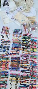 Huge Lot Embroidery Floss American Thread J&P Coats & Clarks needlework