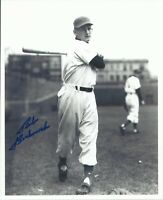 Bob Borkowski 1950 1951 Chicago Cubs Wrigley Field Autographed 8x10 Photo  COA