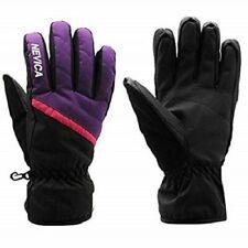 NEVICA Girls Black & Purple Waterproof Winter Ski Gloves 9-10 Years BNWOT