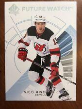 2017-18 UD Hockey SP Authentic Future Watch #145 Nico Hischier /999