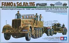 Tamiya 35246 German Famo & Tank Transporter Sd.Ah.116 1/35 Model Kit NIB