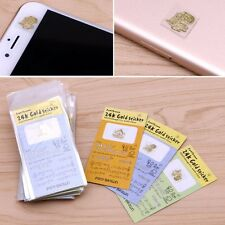50PCS Anti-radiation Gold-plated Korea Cartoon Mobile Cell Phone Camera Stickers