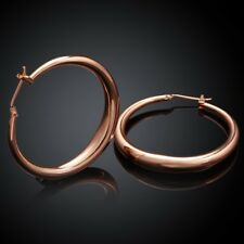 women Hoop jewelry wedding Silver Gold plated Earring Fashion Charm Beautiful