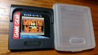 Sega Game Gear Gun Star Heros Japan GG games Soft Cartridge Tested Working