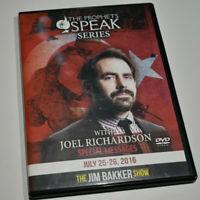 2 DVD set - The Prophets Speak Series with Joel Richardson- Jim Bakker Show
