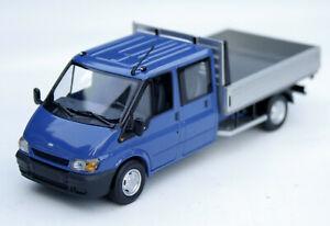 Ford Transit V Doppelkabine Pritschenwagen Bj. 2000-2006, Minichamps im M. 1:43