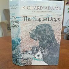The Plague Dogs  ADAMS, Richard Published by Allen Lane FIRST ED 1977