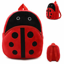 Toddler Kid Children Boys Girls Ladybird Shape Backpack School Bag Kindergarten
