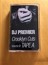 DJ Premier Crooklyn Cuts Tape A Mixtape Cassette 90s Tape Kingz Brooklyn NYC