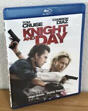KNIGHT AND DAY (Blu-Ray, 2012) Region A - LIKE NEW FLAWLESS CONDITION