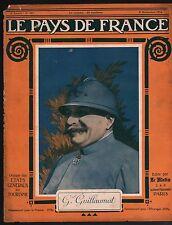 WWI Portrait General Adolphe Guillaumat Uniforme France 1915 ILLUSTRATION